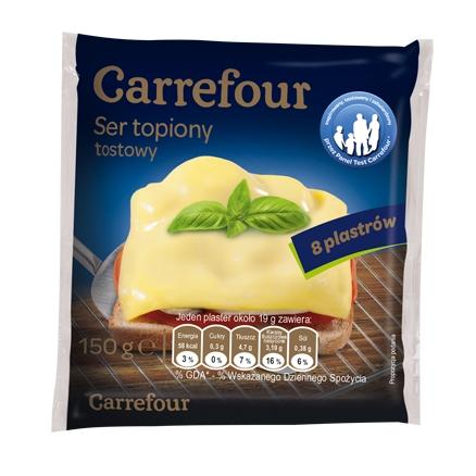 Ser topiony Carrefour